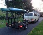 5 x 8 Utility Trailer to Haul Kayaks | trailersuperstore.com