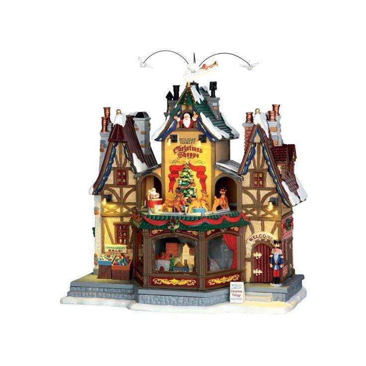 Lemax Holiday Hamlet Christmas Shoppe With 4.5V Adaptor Lemax dadolo.com