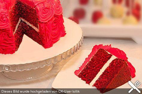Red Velvet Cake, ein sehr schönes Rezept aus der Kategorie Backen. Bewertungen: 13. Durchschnitt: Ø 4,3.