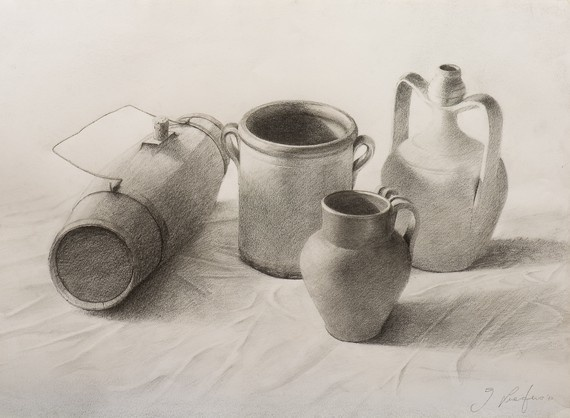 Life Drawing Still life   Drawing by Lucio76 on Etsy, €500.00