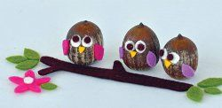 11 Acorn Crafts For Fall Acorn Craft Owl And Crafts