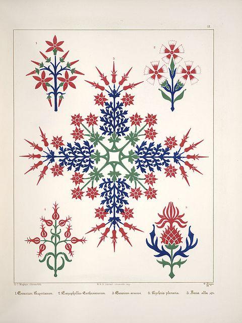 Floriated Ornament, 1849, Augustus Pugin (1812-1852)