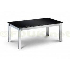 Special Price: £109.99   Julian Bowen Tempo Black Glass Coffee Table