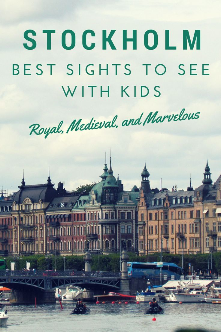 There are so many sights to see in Stockholm with kids.