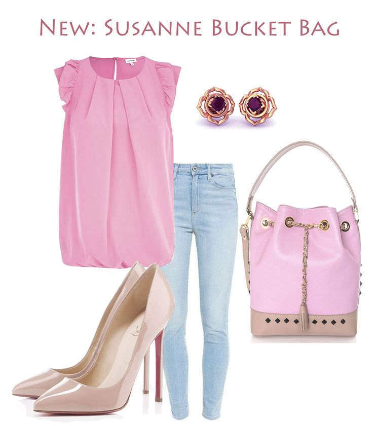 Inspiration doesn't hit us every single day; sometimes it's difficult to make the right clothing combinations. The new bucket bag made by Wild Inga is the perfect accessory for any feminine casual outfit, being the stylish solution you have been looking for. Pair it with your favorite jeans and top and you are good to go!