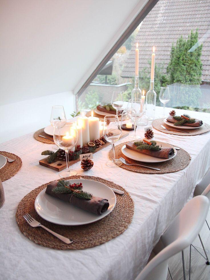 120 besten tischdeko fr hst ck bilder auf pinterest tischdekoration abendessen und brunch. Black Bedroom Furniture Sets. Home Design Ideas
