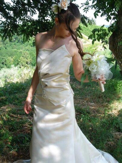Weeding dress handmade