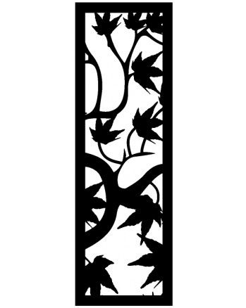Maple Leaf - 1800 x 600 mm - 9 mm Decorative Hardwood Screen