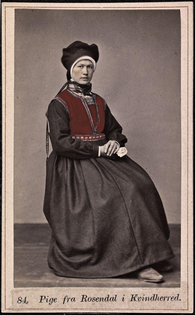 1860-1870 Kvinnherad