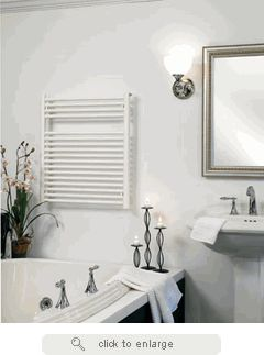Runtal Radiators Radia X Electric Plug In Painted Finish Towel Warmer   The  Runtal Radia Provides Simple Elegance With Excellent Performance.