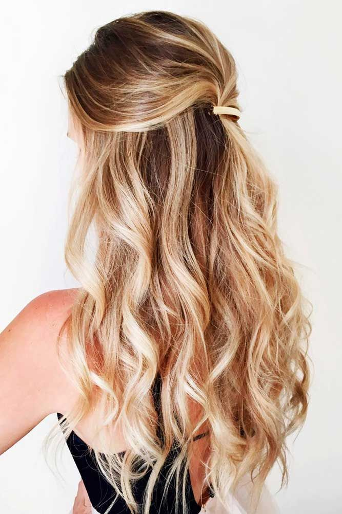 30 Trendy Long Hairstyles Get The Most From Your Hair Hair Styles Down Hairstyles For Long Hair Curly Hair Styles