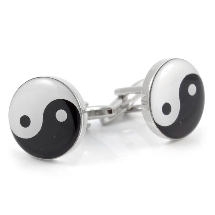 Yin og Yang Manchetknapper - 179,00kr