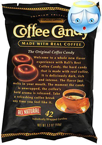 #Bali's Best Coffee Candy: Coffee lovers will agree that some of the world's most prizzed coffees originate from the islands of Java. Made with real Sumatran cof...