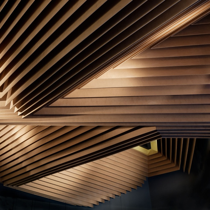 """Oozora"" Japanese restaurant and bar in Kifisia, Athens, Greece / designed by k-studio. / credit: ceiling detail, photo by George Messaritakis"