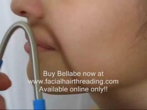 Bellabe Facial Hair Remover Threader. Easily Removes Unwanted Facial Hair.