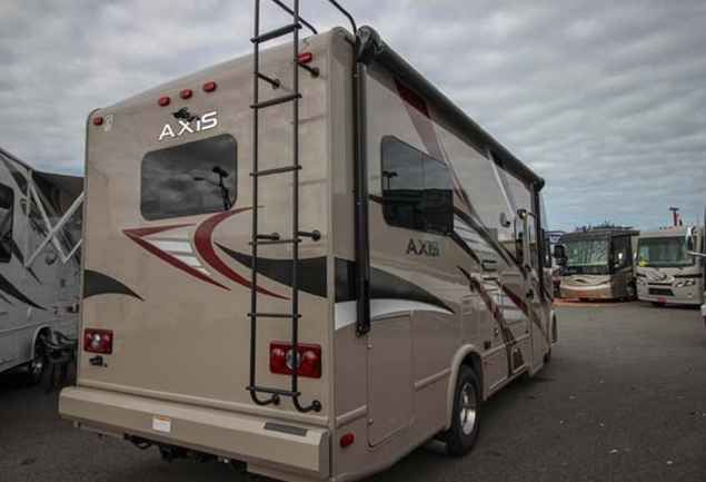 2016 New Thor AXIS Class A in Washington WA.Recreational Vehicle, rv, 2016 THOR AXIS, This new 2016 Thor Axis 24.1 is equipped with one slide out, a wall-mounted LED TV in the living area, a cozy sleeper sofa and a drop down bunk over the cab. In addition, there is a booth style dinette for entertaining and dining. The kitchen is equipped with a counter top extension, single bowl sink, a 3-burner stove top, microwave and double door wood paneled refrigerator. Furthermore, this Axis motor…