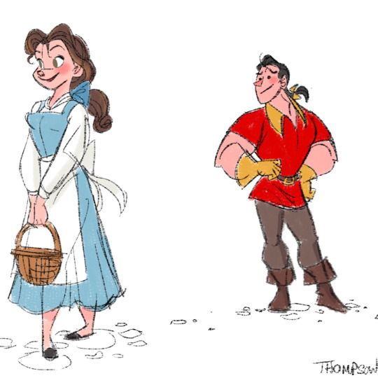 Steve Thompson - It is funny, but Gaston actually seems nice in this image.