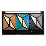 This is one of my favorites on e.l.f.: 18-Piece Geometric Eyeshadow Palette. $5