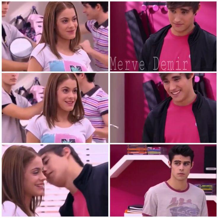 Violetta ve Leon💛 After their first kiss. #Leon #Violetta #Leonetta #V1 #Tomas #Tomletta