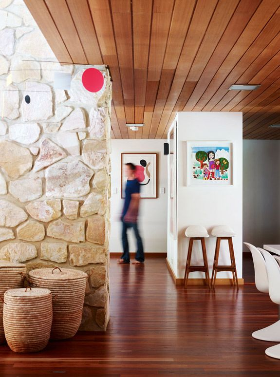 Retro mid-century modern home designed by Chris Dimond, Australia. | desire to inspire - desiretoinspire.net