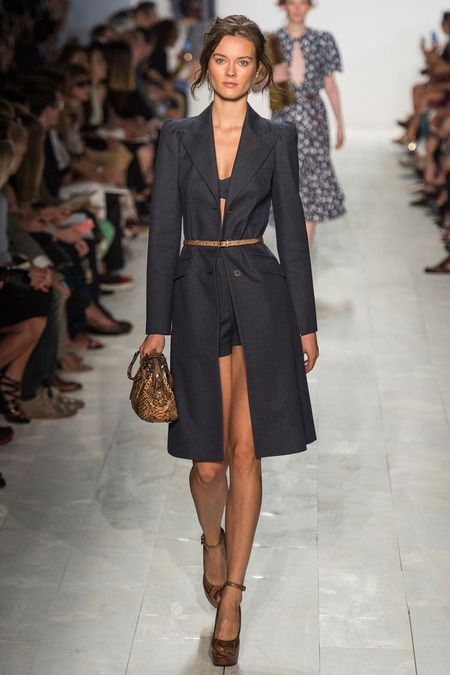 bra top + shorts  Michael Kors   Spring 2014 Ready-to-Wear Collection   Style.com