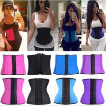 7 COLORS Women Latex Rubber Waist Training Cincher Steel Boned Corset Shaper Shapewear xs-6xl Best Seller follow this link http://shopingayo.space