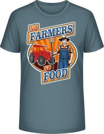 d8a1875ab349 Poľnohospodár - pánske tričko Leads No Farmer No Food