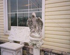 Ancient Eagle Statue