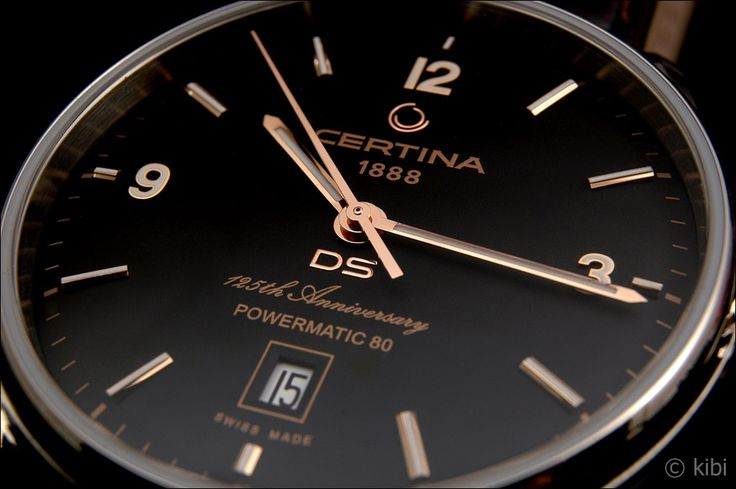 (2) Certina DS Powermatic 80 – 125th anniversary edition - Elegantné hodinky - HODINKOMANIA.SK