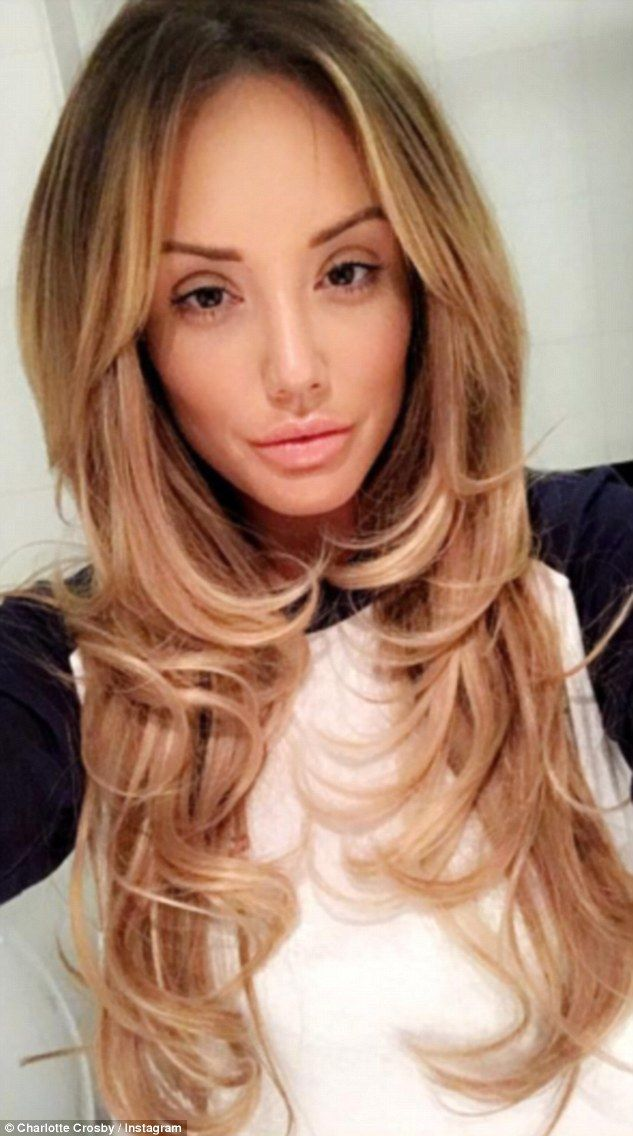 Fighting fit:Charlotte Crosby appears to be back on her feet after a brief illness, after...