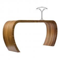 sideBow Sideboard Nussbaum