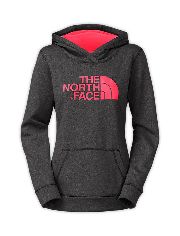 The North Face Women's Fave-Our-Ite Pullover Hoodie in Asphalt Grey Heather, Size Medium
