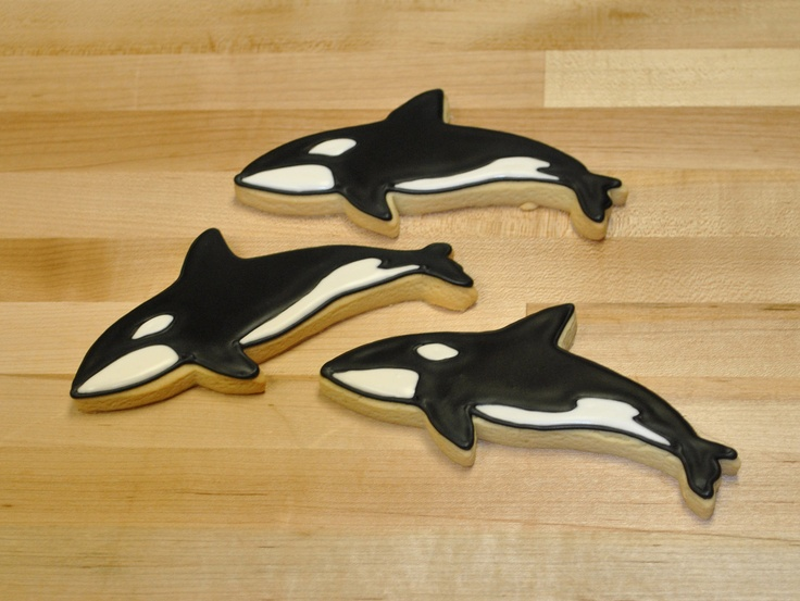 Orca cookies! I don't think I could eat them!!