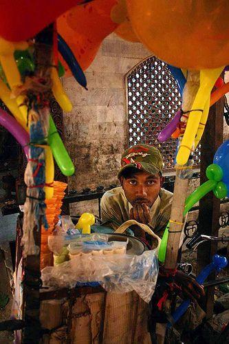 Street vendor in Nepal