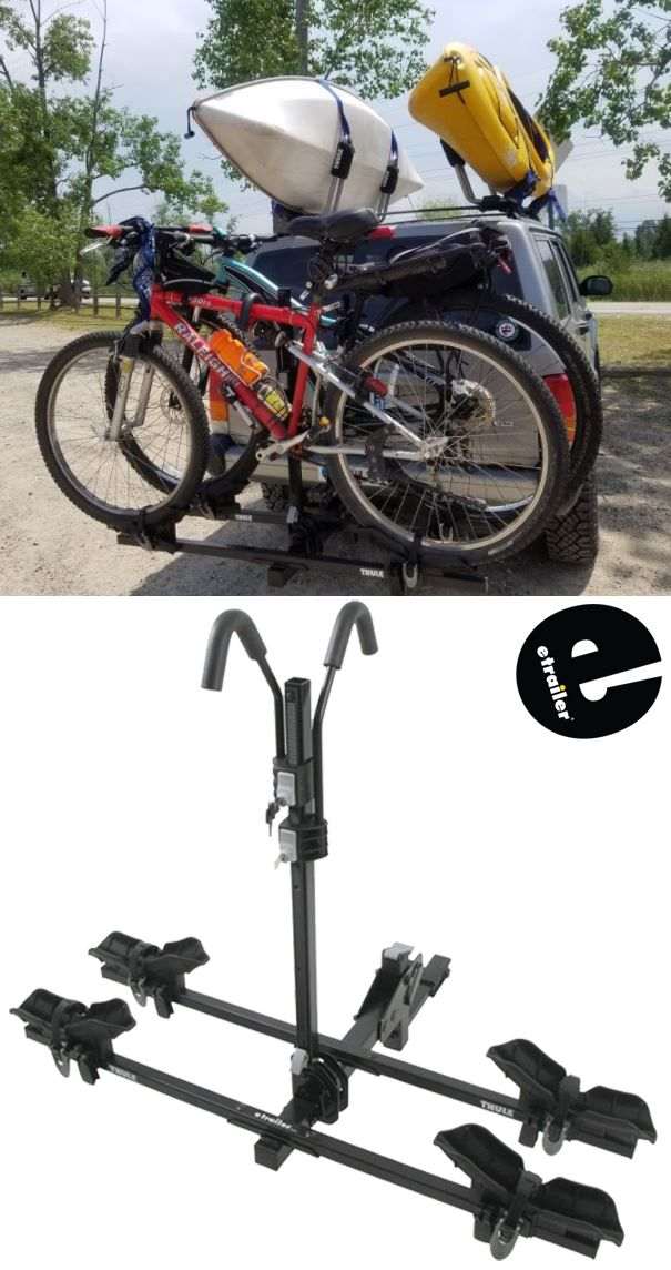 Thule Doubletrack Platform Style 2 Bike Rack For 1 1 4 And 2