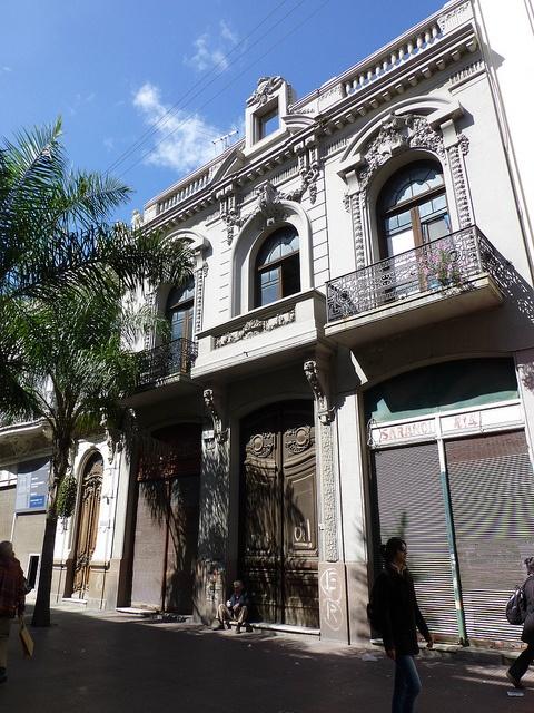 Calle Sarandi in Old Montevideo, Uruguay, via Flickr.