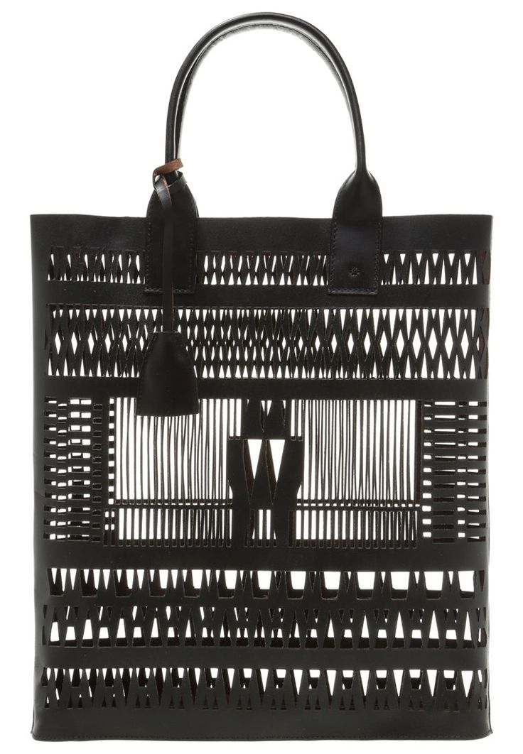 DAY Birger et Mikkelsen DAY POINTELLE - Tote bag - black for £87.50 (21/01/16) with free delivery at Zalando