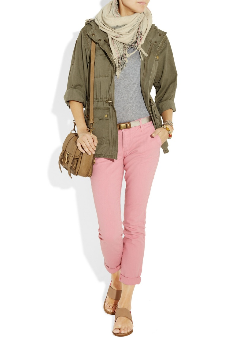 Amazing early spring outfit.