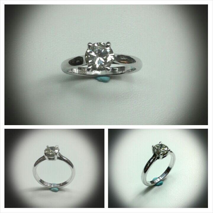 #18kt #whitegold 1.50 ct #diamond #engagement #ring #handmade by #paolobrunicardi #orafo #goldsmith #jewelrymaker  #metalsmith   #metalsmithing   #lovemyjob #brunicardipreziosi #marinadicarrara #tuscany #italy #projectgoldsmith #custom #customade #jewelry #gold #madebyhand #jewelryforwomen #diamondjewelry #jewellery engagementring #artist #artisan #italianjob #italiansdoitbetter
