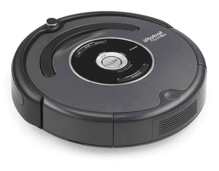 My Roomba rocks! Set it and forget it! It sweeps and vacuums my floors when I am at work on a set schedule that I give it. It won't fall down stairs and it comes with a docking station it automatically returns to when it's finished. Great for carpet, tile, and hardwood floors. It even sings to you when it wakes up!