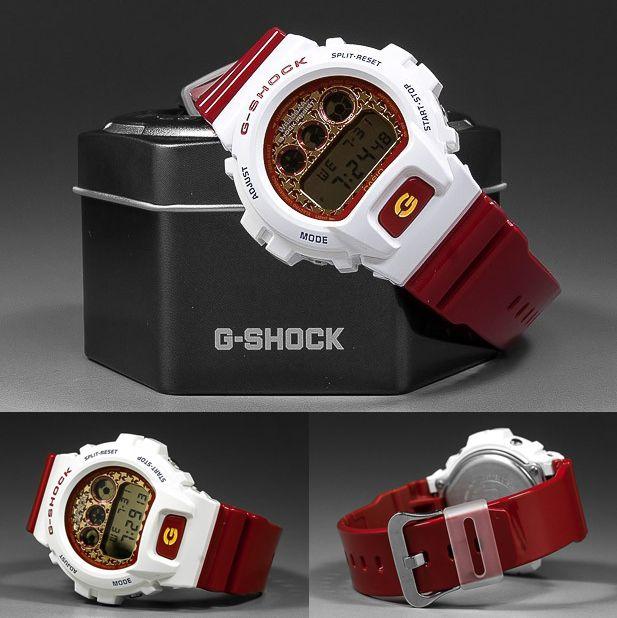 "Brand : Casio G-Shock Model : DW-6900SC-1 Price :: $150 (""FREE Shipping"") Status :: New Authentic 100  % Contact us: Tel & whatsapp :+6695 6391493 Line : custom-cat"