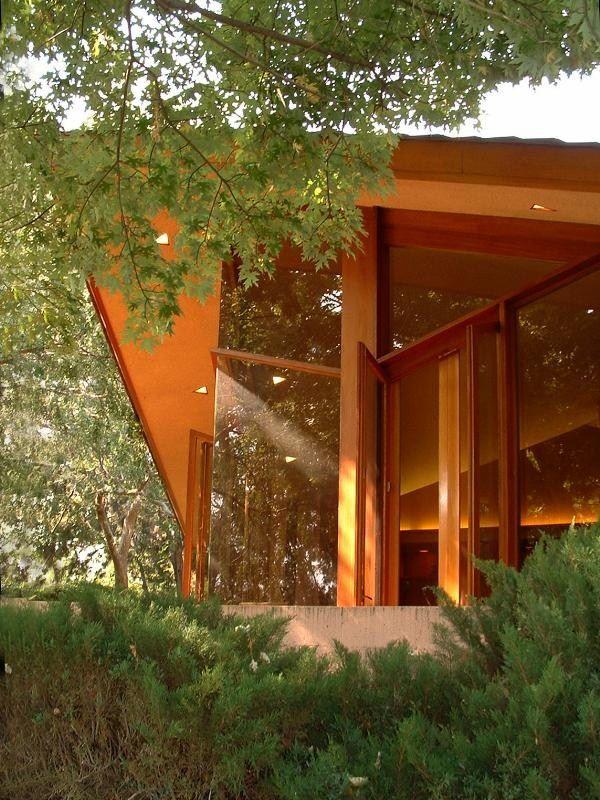 Dr. George Ablin House, Bakersfield, CA, 1961 - Frank Lloyd Wright