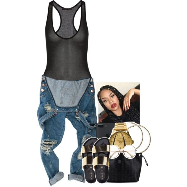 A fashion look from November 2016 featuring OneTeaspoon, MCM tote bags and Nixon watches. Browse and shop related looks.