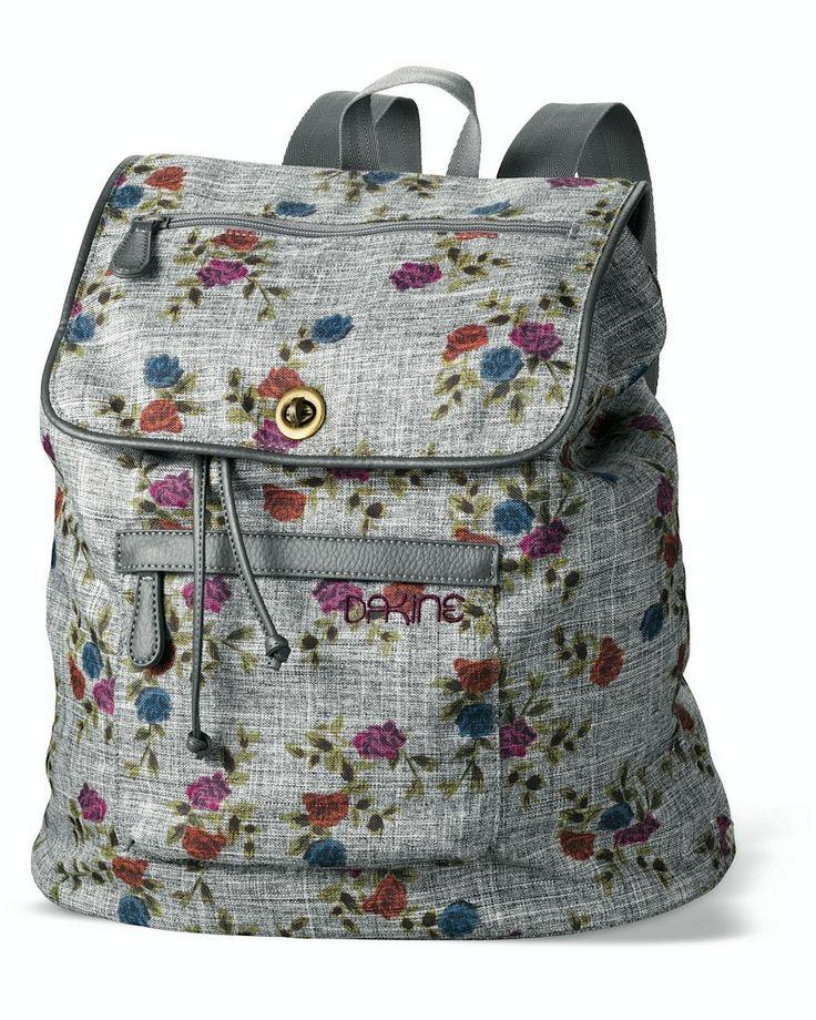 Dakine blommig ryggsäck