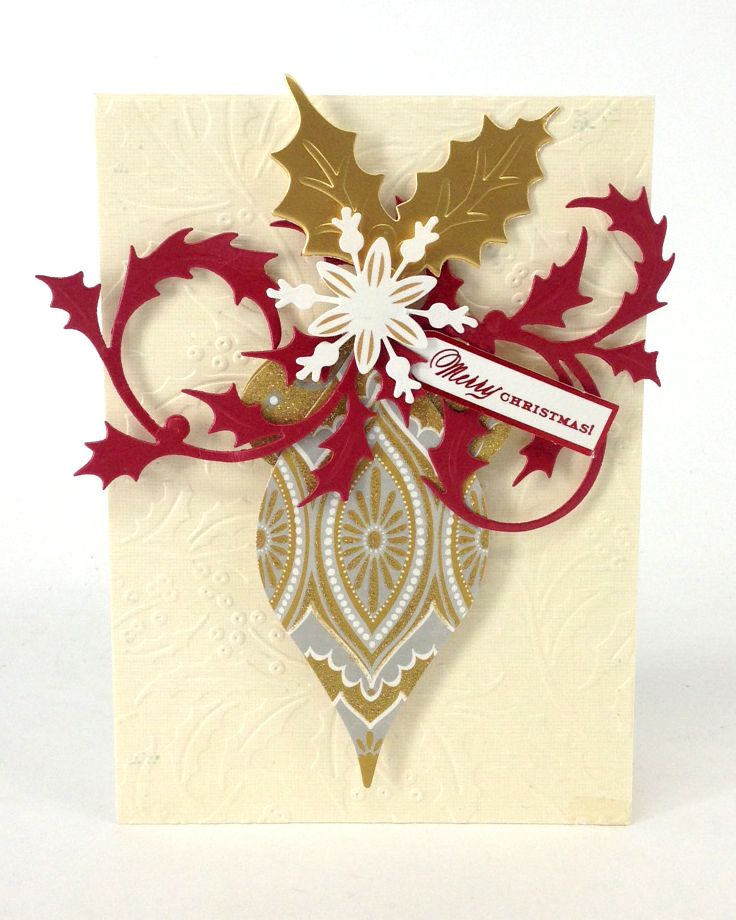© Anna Griffin, Inc. Holly Die Cutting Dies