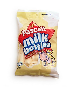 Kiwiana; Pascall milk bottle lollies
