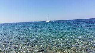 Familien+Urlaub,+120+qm+da+45+qmTerrasse,+bis+6Pers.++150m+Strand,+Zentrum+300m,+++Ferienhaus in Dalmatinische Inseln von @homeaway! #vacation #rental #travel #homeaway