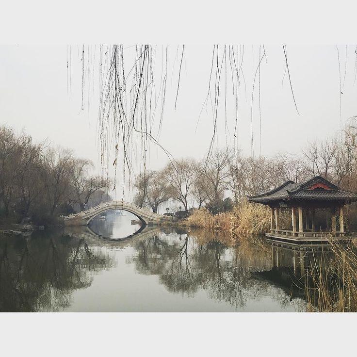 Daming lake #whoneedsafilter #chinascenery #jinan #chinastudytour #confuciusinstitute by kimneo85