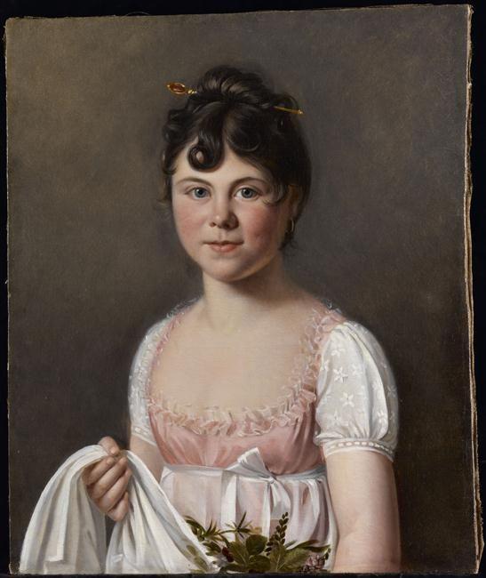 Martin Drölling, Daughter of the artist, Réunion des Musées Nationaux-Grand Palais -