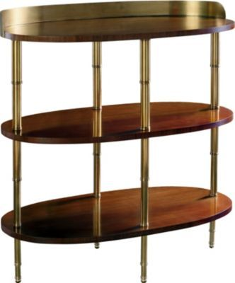 Brighton Bar Table from the Mariette Himes Gomez collection by Hickory Chair Furniture Co.